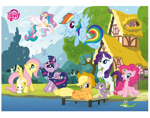 Photo Wall Mural MY LITTLE PONY FRIENDS FOR LIFE 280x200 Part 6