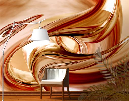 Tapeten Bilder Selber Machen : Details zu FotoTapete Mandalay Tapete 3D Digital Kunst Abstrakt Linien