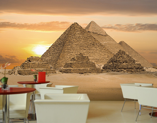 Photo wall mural egyptian dream 500x280 wall decor for Egyptian wall mural