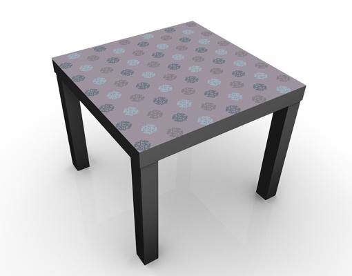 design tisch dekoratives musterdesign 55x45x55cm beistelltisch couchtisch motiv tisch. Black Bedroom Furniture Sets. Home Design Ideas