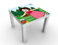 Design Tisch Heidi - Zuhause 55x45x55cm