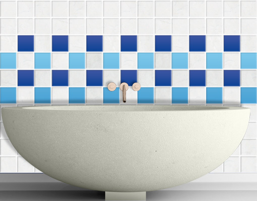 Stickers carrelage salle de bain pictures to pin on pinterest - Stickers carrelage salle de bain ...