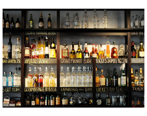 Carta da parati loving drinks bar 400x280 foto murali bar for Carta da parati bar