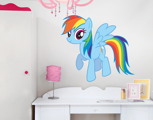 Image Is Loading Wall Decal My Little Pony Rainbow Dash Wallsticker  Part 59