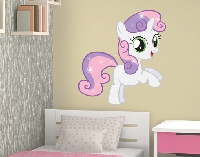 Wandtattoo my little pony sweetie belle
