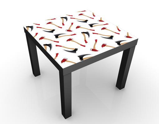 design tisch musterdesign mit xten 55x45x55cm beistelltisch couchtisch motiv tisch. Black Bedroom Furniture Sets. Home Design Ideas
