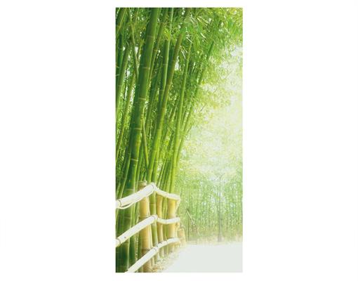 design raumteiler bamboo way schiebe vorhang gardine. Black Bedroom Furniture Sets. Home Design Ideas