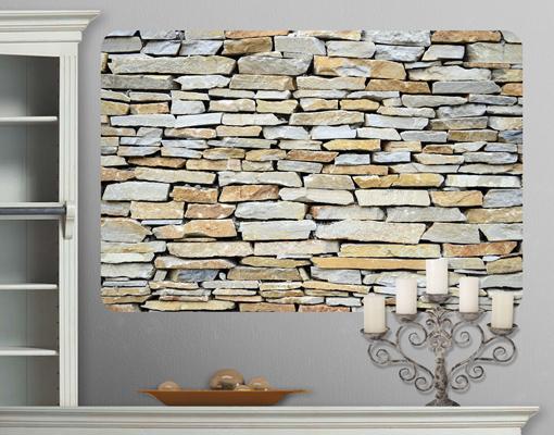 Mauer Tapete Mit Struktur : Stonewall Wanddesign Poster Stein Natur Mauer Wand Struktur eBay