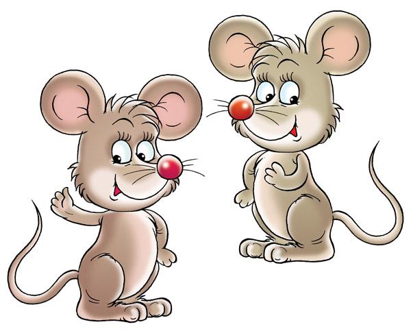 Zwei Mäuse Clipart