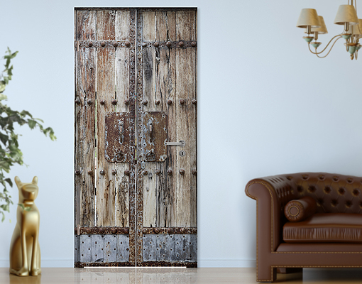 Selbstklebende Tapeten Holz : Chinese Wall Decor Door